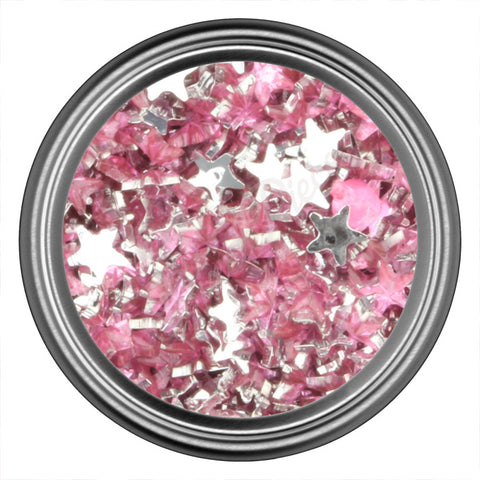 Pink Light Star Rhinestone