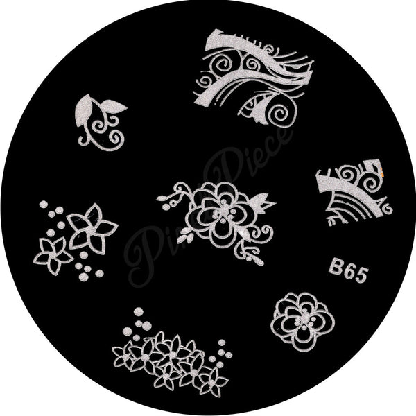 B 65 Stamping Template