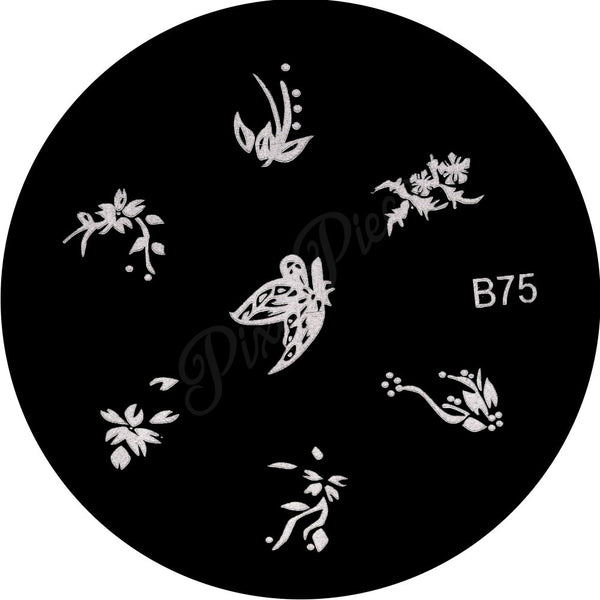 B 75 Stamping Template