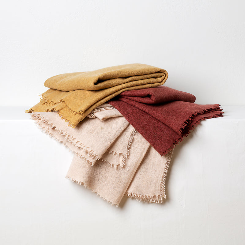 Cashmere Throw- Dijon