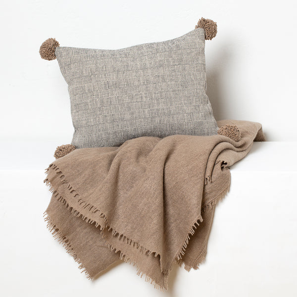 Rips Cushion and Cashmere Throw Travel Set