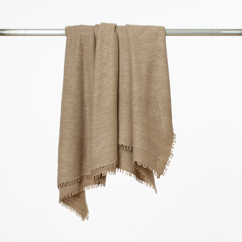 Cashmere Throw- Terre