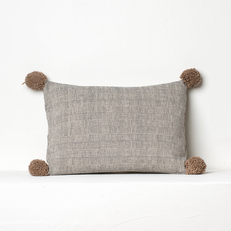 Small Rips Cushion – Beige