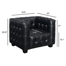 Load image into Gallery viewer, Parker Tuxedo Tufted Arm Chair