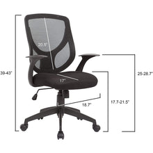 Load image into Gallery viewer, OC-05 Adjustable Swivel - Office Chair
