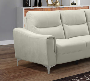 Kim Transitional Modern 2 Piece Sectional Sofa