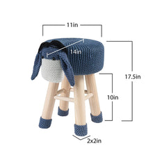 Load image into Gallery viewer, Stool-Donkey Animal Stool / Ottoman