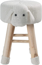 Load image into Gallery viewer, Stool-Sheep Animal Stool / Ottoman