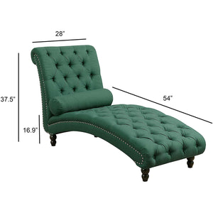 Alice Tufted Chaise