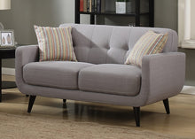 Load image into Gallery viewer, Crystal Mid-Century Sofa, Loveseat, Chair