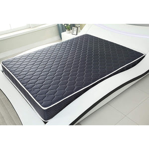 "6"" High Density Foam Mattress Navy Blue Waterproof Cover"