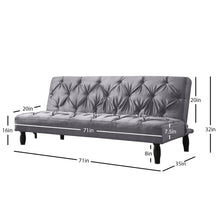 Load image into Gallery viewer, Campbell Convertible Sofa