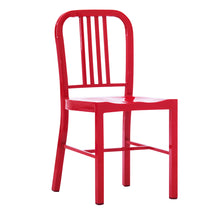 Load image into Gallery viewer, D-009 Metal Dining Chair With Back 2 Piece