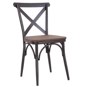 D-011 Metal Build Dining Chair