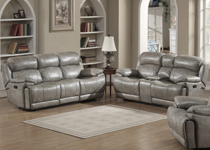 Estella Recliner Sofa, Loveseat with Storage Console, Chair