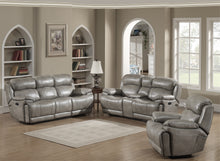 Load image into Gallery viewer, Estella Recliner Sofa, Loveseat with Storage Console, Chair