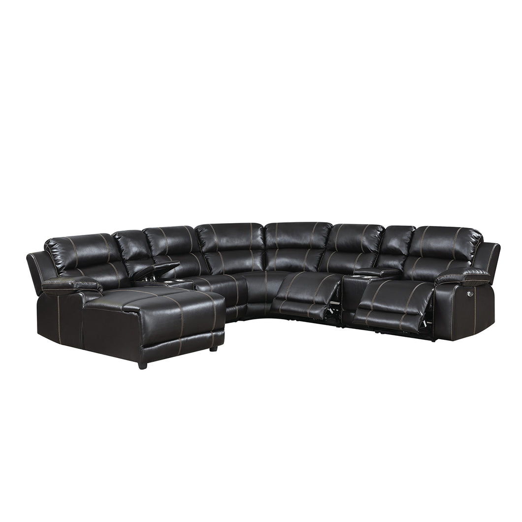 William 7-Piece Power Reclining Sectional