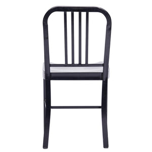 D-009 Metal Dining Chair With Back 2 Piece