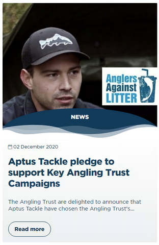 Angling Trust One Percent For Water New Article Announcement