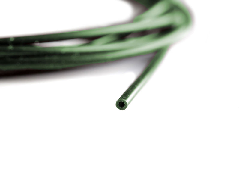 Aptus Silicone Tubing, Green and Transparent Gravel. Carp Fishing Tackle.