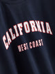 California West Coast Graphic Sweatshirt