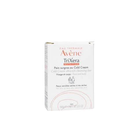 Eau Thermale Avene TriXera Cold Cream Cleansing Bar