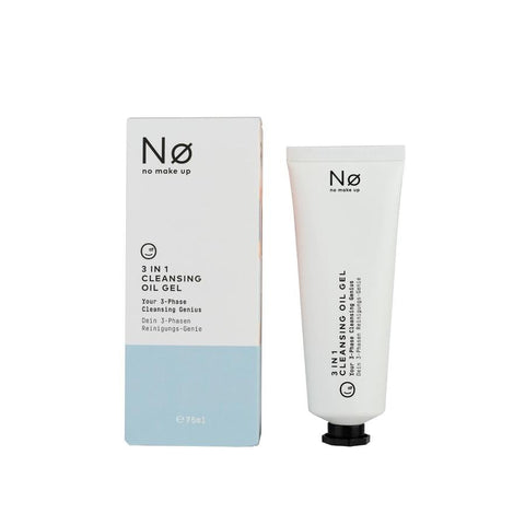 No Cosmetics 3-in-1 Cleansing Oil Gel