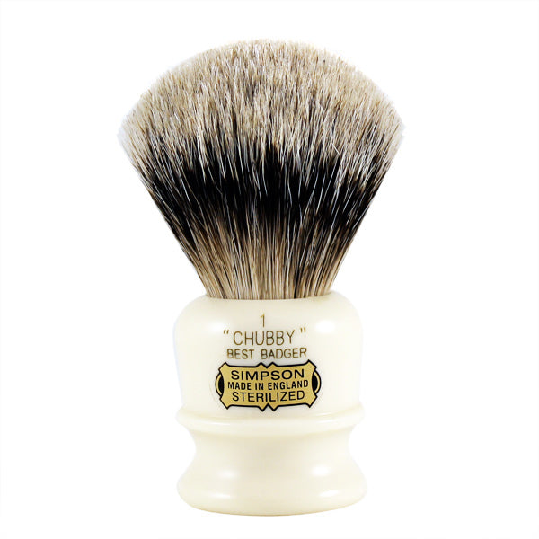 Simpsons Chubby CH1 Best Badger Shave Brush