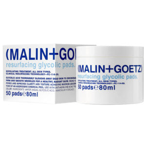 Our Top Spring Skincare Tips | Malin + Goetz Resurfacing Glycolic Pads | Smallflower Blog