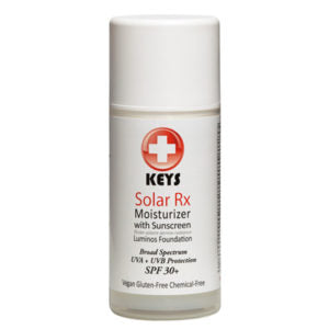 Our Top Spring Skincare Tips | Keys Solar RX Moisturizer with Sunscreen | Smallflower Blog