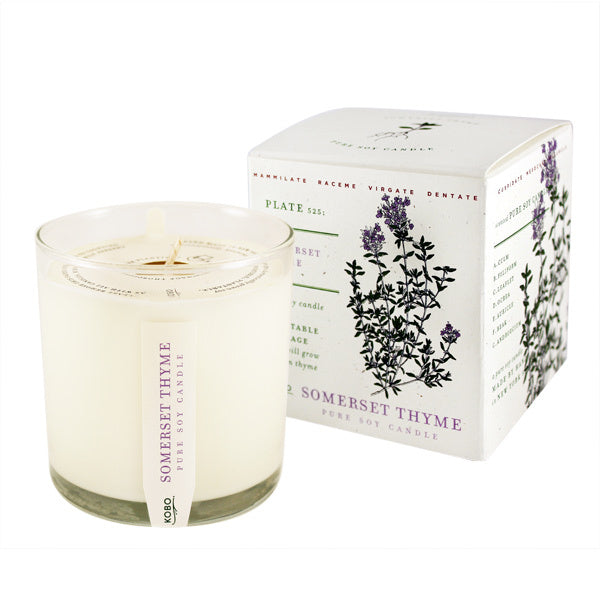 KOBO Somerset Thyme Soy Candle Spring