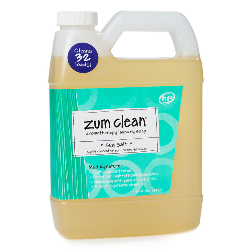 Zum Clean Sea Salt Aromatherapy Laundry Soap Spring Cleaning