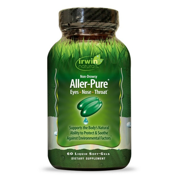 Natural Allergy Relief | Irwin Naturals Aller-Pure Non-Drowsy Liquid Softgels