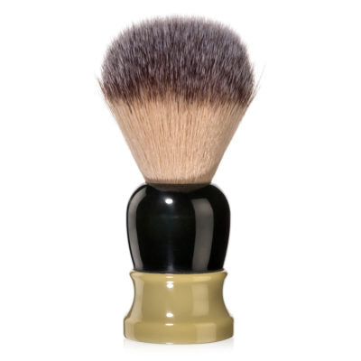 Fine Accoutrements Green & Gold Classic Angel Hair Shave Brush