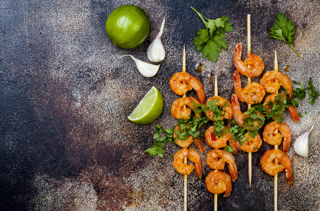 Summer Recipes | Grilled Shrimp Tostadas