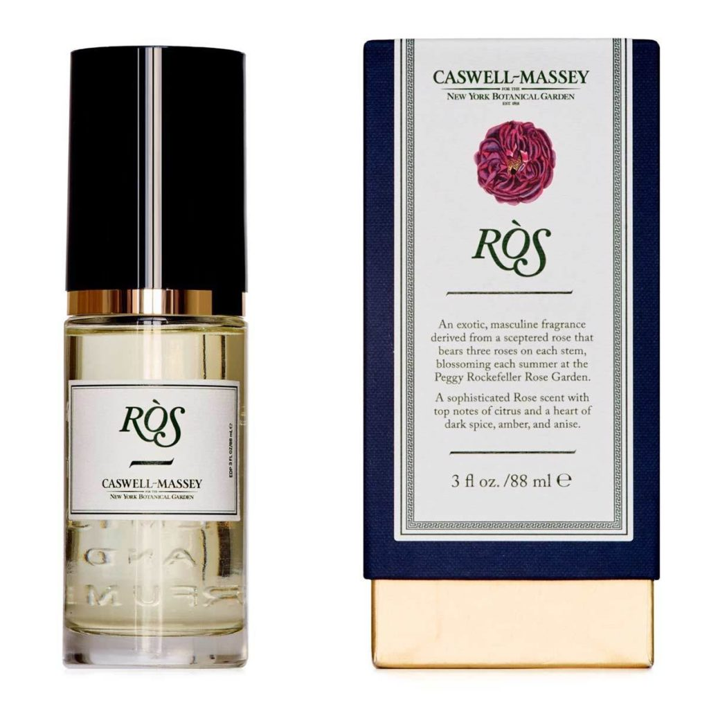 Niche Fragrance for Summer | Caswell-Massey NYBG Ros Fragrance