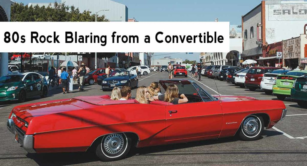 Niche Fragrance for Summer | Listening to punk rock in a convertible