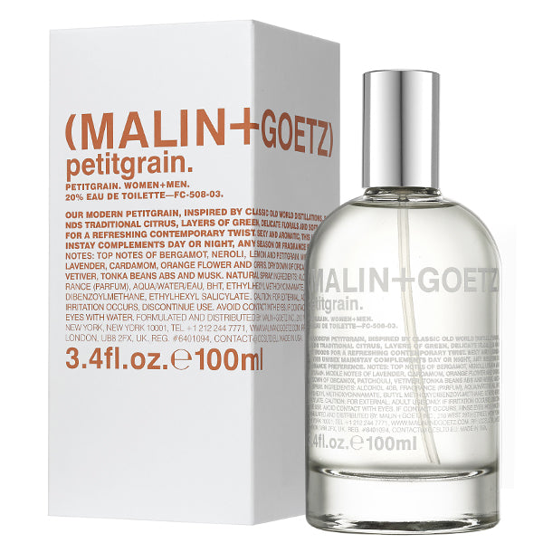 Niche Fragrance for Summer | Malin + Goetz Petitgrain Eau de Parfum
