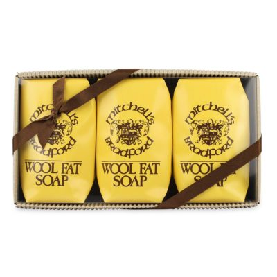 Mitchell's Wool Fat Soap (Box of 3)