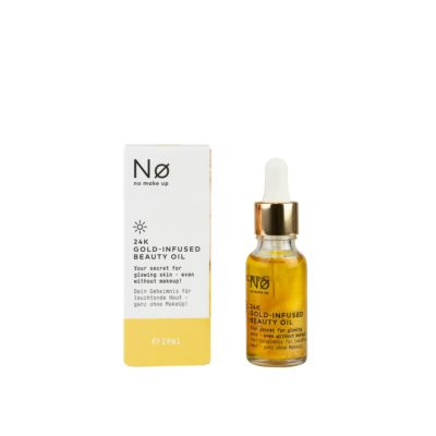 No Makeup 24k Gold Infused Beauty Oil