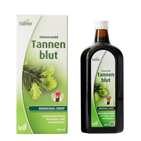 Hubner Tannenblut Cough Syrup