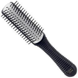 Primary image of Salon Removable Rubber Pad 5 Row Ball Tip Pin Handbag Size Hairbrush - KS38
