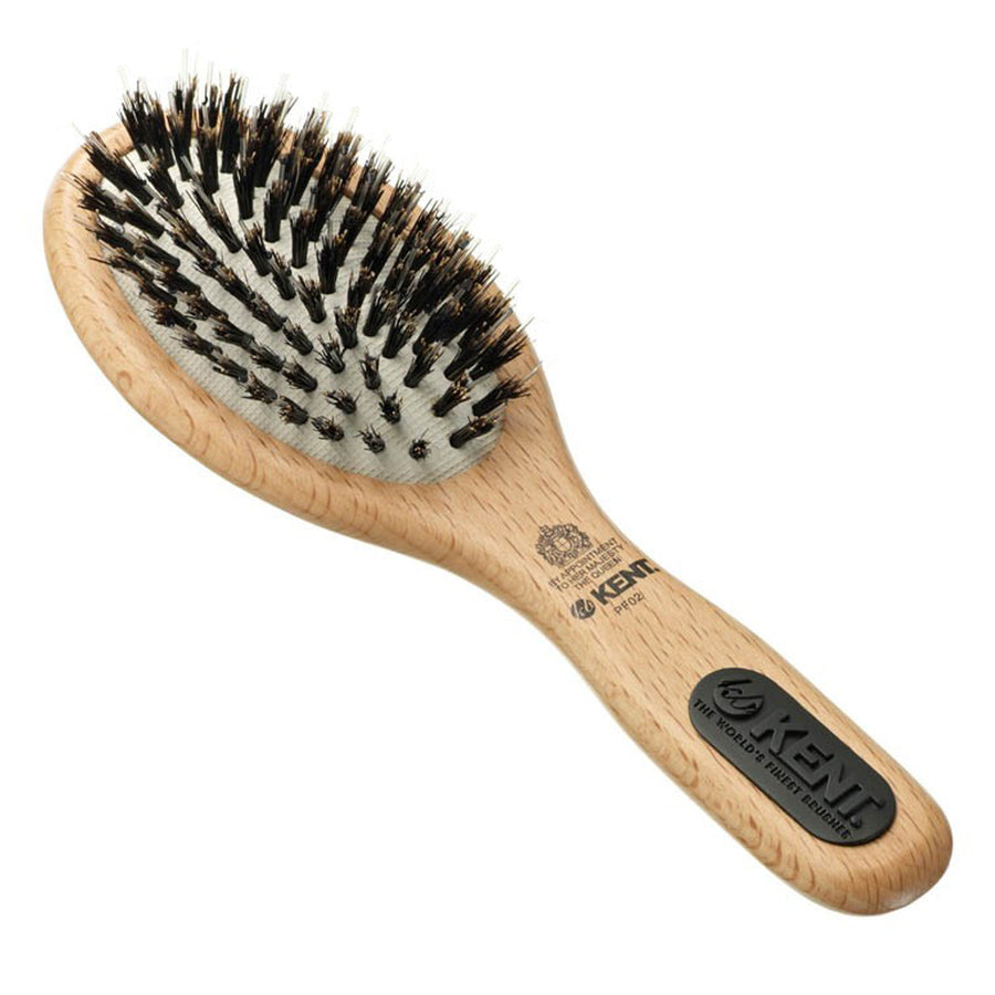 Primary image of Natural Shine Small Porcupine + Bristle Hairbrush - PF02