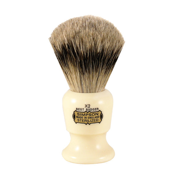 Primary image of Simpsons Commodore X2 Best Badger Shave Brush 95mm Shave Brush