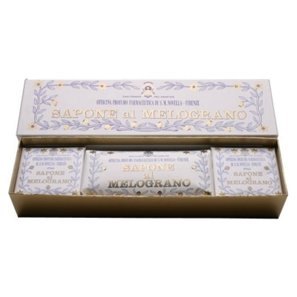 Primary image of Pomegranate Box of 3 Soaps