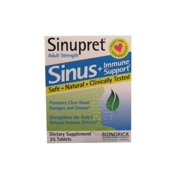 Primary image of Sinupret Adult Strength Sinus Tablets