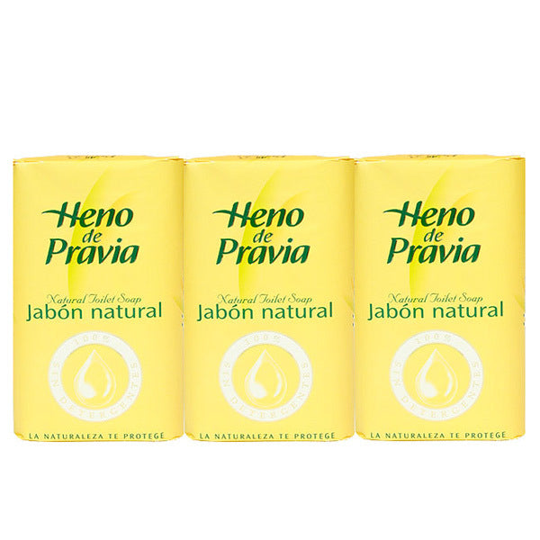 Primary image of Heno de Pravia Soap (3 Bars)