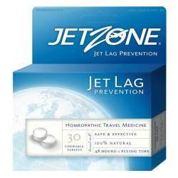 Primary image of Jet Zone Homeopathic Jet Lag Chewable Tablets