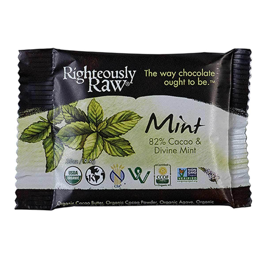 Primary image of Divine Mint Bite Size Chocolate Bar