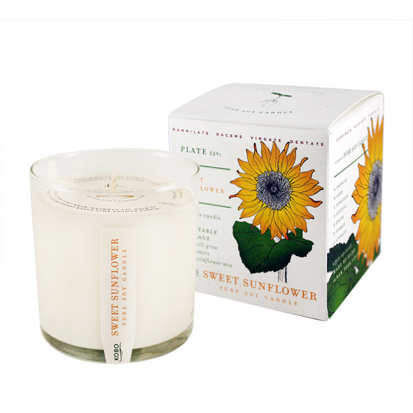 Primary image of Sweet Sunflower Candle with Plantable Box